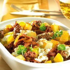Kohlrabi-Kartoffel-Auflauf Rezept   Weight Watchers