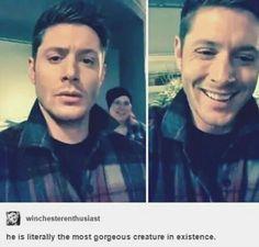Jensen being adorable ^_^ ♥◡♥ #Jensen Ackles #fangirl #Supernatural