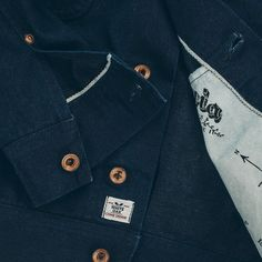 The perfect indigo selvage jacket for spring from #TaylorStitch. Stunning quality and craftsmanship! #menswear