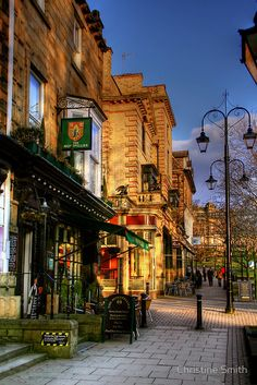 Afternoon in Montpellier Parade, Harrogate, Yorkshire, England