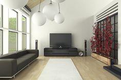 Minimalist inspired living room