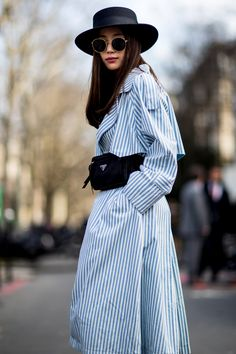 Paris Fashion Week Street Style Fall 2018 Day 7. All the best street style looks from Paris FW18 shows and fashion week. The best looks worn by fashion editors, models, influencers and more. See the latest Street Style from all the womenswear fashion shows at TheImpression.com