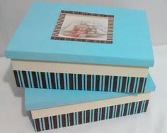 Conjunto Caixas Organizadoras Baby Urso