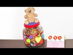 Indoor Activity - Making a cookie jar to give as a gift.