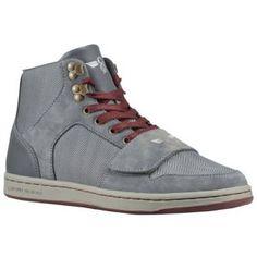 Creative Recreation Cesario - Men's - Street Fashion - Shoes - Shiny Herringbone Smoke