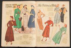 'ECHO DE LA MODE' FRENCH VINTAGE NEWSPAPER 4 SEPTEMBER 1949 | eBay
