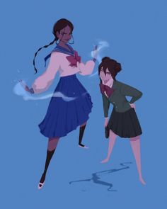Avatar: The Last Airbender (The Legend of Korra) Uniform - Blue, an art print by Pauline - INPRNT Avatar Ang, Korra Avatar, Team Avatar, Character Inspiration, Character Art, Character Design, Film Manga, Manga Anime, Punziella