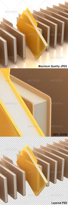 Document Folders with One Golden Folder