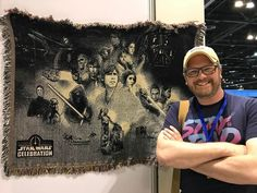 Star Wars Tapestry for your wall anyone?! #swco #showstore