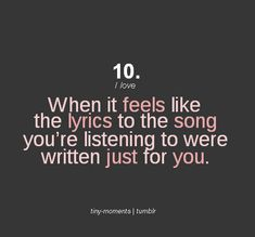 like Taylor Swift songs, lol