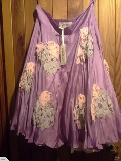 Trelise Cooper 'Swirly Sue' Silk Skirt sz12   Trade Me