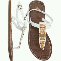 5137b424facf Roxy sandals so adorable Beautiful Sandals