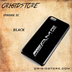 Mercedes Benz AMG Logo Black White Snap On Or 3D For Iphone 5C