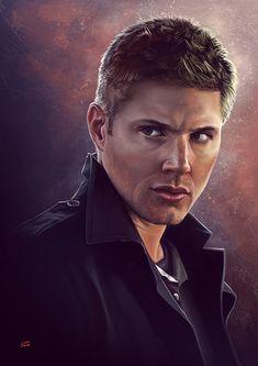 Supernatural Dean by Lun-art on DeviantArt