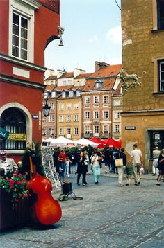 Colorful Warsaw http://www.travelandtransitions.com/destinations/destination-advice/europe/