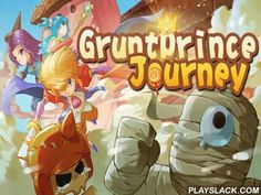 Gruntprince Journey: Hero Run  Android Game - playslack.com , Control a hero running along a fairy story empire with beverage anchorages and cake dwellings. gather coinages. aid crown-prince and his colleagues overpower monsters who captures the empire in this game for Android. specify a character and lead it through many escapades in beautiful levels. Run forward, jump over holes, and other hindrances. Use platforms. gather a collection of bonuses. Run away from the monsters, or demolish…