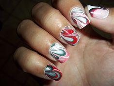 Marble nail by ruby_moon - Nail Art Gallery nailartgallery.nailsmag.com by Nails Magazine www.nailsmag.com #nailart