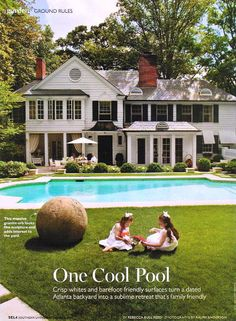 pool and back of house (Southern Living Sept 2011)
