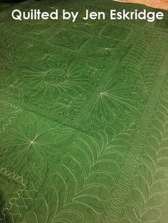 Longarm Quilting | Jen Eskridge | ReannaLily Designs | ReannaLily Quilts | Forest Floor Quilt Pattern