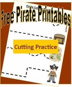 Pirate cutting practice