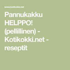 Pannukakku HELPPO! (pellillinen) - Kotikokki.net - reseptit