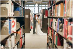 Wedding: Clint & Erika // San Diego Public Library, San Diego, CA » Analisa Joy Photography // library wedding