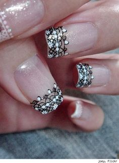 28 Amazing Fingernail Art Designs - Urlesque#