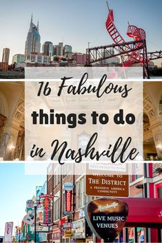 From fabulous food to great live music and fascinating history, there are so many great things to see and do in Nashville Tennessee travel usa travelhacks 625930048194449804 Nashville Attractions, Nashville Vacation, Visit Nashville, Tennessee Vacation, Nashville Things To Do, Nashville Must Do, Nashville Holidays, Weekend In Nashville, Nashville Restaurants