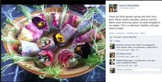 Gorgeous summer rolls by Lauren Stocksdale