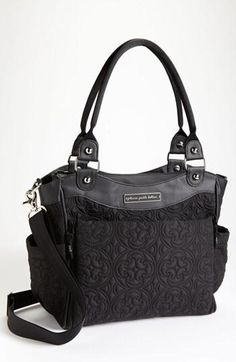Stylish diaper bag! Ok I may like this better than marc Jacobs bc of all the compartments :))