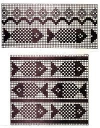 Newest Totally Free knitting charts fish Style Resultado de imagen de fair isle knitting free charts fish , Motif Fair Isle, Fair Isle Chart, Fair Isle Pattern, Knitting Charts, Knitting Stitches, Free Knitting, Knitting Patterns, Crochet Cross, Crochet Chart