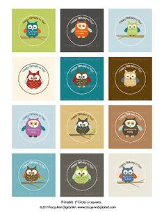 Many owls!