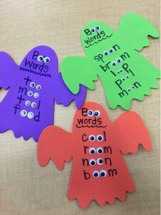 Jolly Phonics Activities, Preschool Phonics, Phonics Rules, Phonics Words, Word Work Activities, Spelling Activities, Teaching Phonics, Teaching Aids, Kindergarten Activities