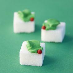 Graella de Sucre: IDEES PER NADAL (terrons de sucre decorats)
