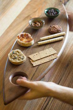 Serving Walnut Board, Cheese Board, Gift Board by FilcoWoodDay on Etsy