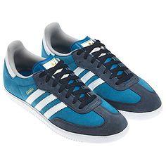 adidas blue samba trainers