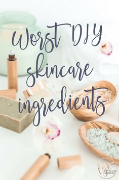 Worst DIY skincare i