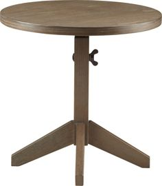 """Wingnut Accent Table  
