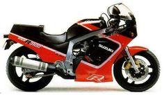suzuki gsx r 1100 1987 #bikes #motorbikes #motorcycles #motos #motocicletas