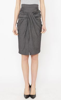 Thakoon Black, Pink And Grey Skirt | VAUNTE