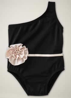 the CUTEST baby swimsuit... WHEN she is allowed to wear black.