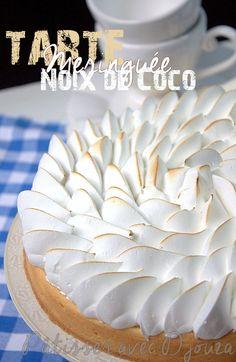 Zumbo Desserts, Lemon Desserts, Köstliche Desserts, Delicious Desserts, Dessert Recipes, Coconut Recipes, Tart Recipes, Sweet Recipes, Pie Decoration