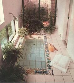 This is a perfect addition to my dream bathroom!❤️❤️❤️ This is a perfect addition to my dream bathroom! Interior Exterior, Exterior Design, Interior Room, Aesthetic Rooms, 80s Aesthetic, House Goals, Dream Rooms, My New Room, My Dream Home