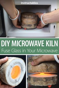 DIY Microwave Kiln - Microwave Oven - Ideas of Microwave Oven - Make a microwave kiln so you can fuse glass safely right in a regular microwave oven.
