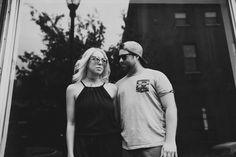 Philadelphia Magic Gardens City Engagement Session | City Chic Engagement | Badass Engagement Session | OffBeat Bride