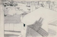 Ives Harbour by Ben Nicholson on artnet. Browse upcoming and past auction lots by Ben Nicholson. Abstract Painters, Abstract Landscape, Landscape Paintings, Building Drawing, 17th Century Art, A Level Art, St Ives, Luxor Egypt, British Museum