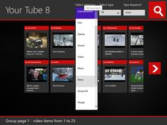 Your Tube 8 – a video streaming App for windows 8 phone users Top Apps, Windows 8, Information Technology, Mobile Application, App Development, Mobiles, Software, Videos, Youtube