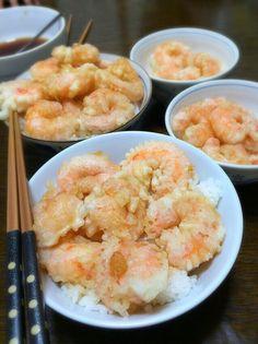Fried Shrimp Bowl
