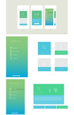 Visual Design for Oral Health app