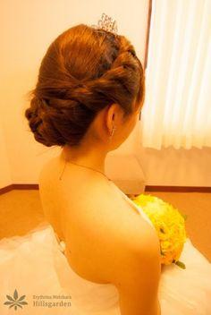 ☆ヘアスタイル(アップ編)☆ | 沖縄の結婚式|エリスリーナ西原ヒルズガーデン